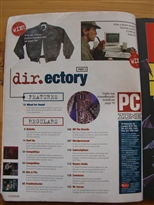 PC Zone Issue 1 Contents Page 2