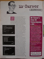 PC Zone Issue 1 Mr Cursor he\'s afraid of his PC Page 1