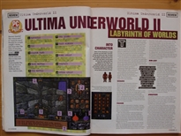 PC Zone Issue 1 Ultima Underworld II Review Page 1