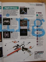 PC Zone Issue 1 X-Wing Preview Page 4